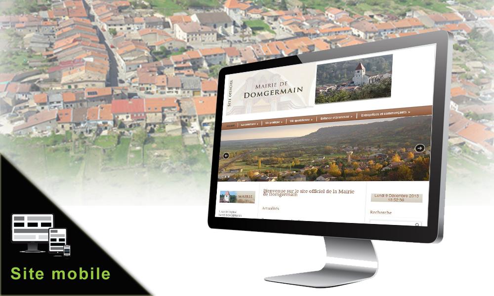 Création du site internet - mairie de Domgermain (54, Meurthe-et-Moselle, Lorraine)