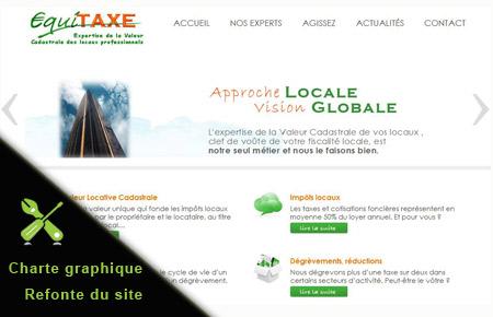 Alternate-web, agence Metz - création site internet Equitaxe