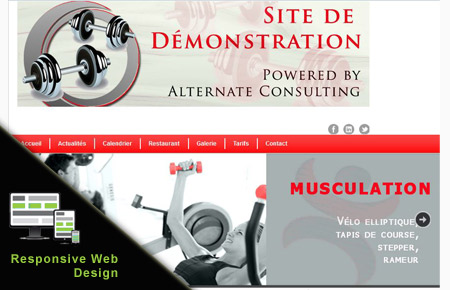 site web fitness