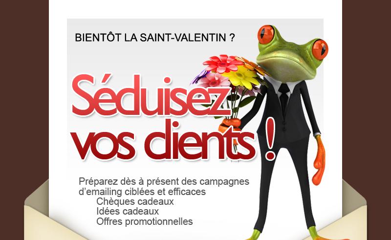 Offre emailing Saint Valentin