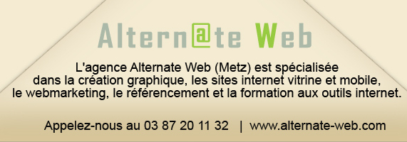 Alternate-web, agence web à metz