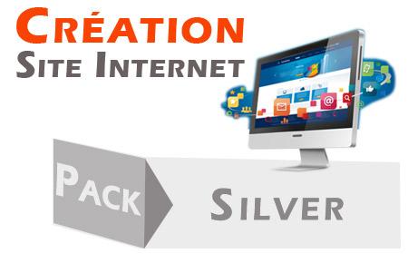création de site internet : offre silver