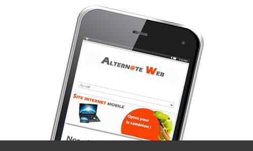 Alternate web agence web à Metz creation de site internet site ecommerce création de campagne d'emailing