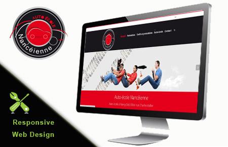 Alternate-web - Création du site internet de l'auto-école nancéienne (nancy, 54)