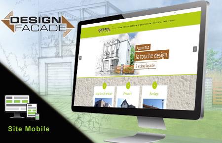 création du site internet de design façade à Metz