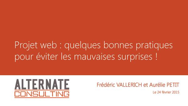 Alternate web agence web à Metz, création de site internet - comment réussir son projet web