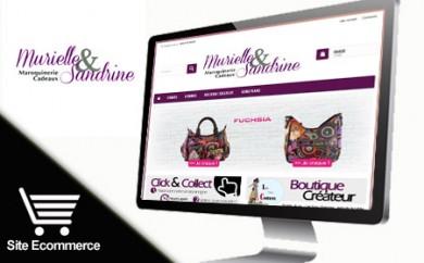 Réalisation site de ecommerce sous prestashop - Murielle et Sandrine (57-Morhange)